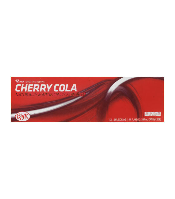 Big K Cherry Cola (12pk)