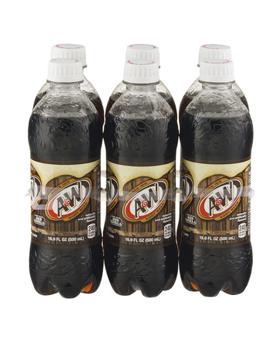 A&W Root Beer (6pk Bottle)