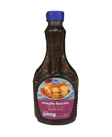 Kroger Maple Bacon Syrup