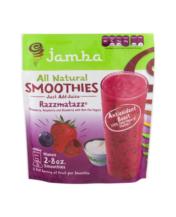 Jamba All Natural Razzmatazz Smoothie Mix