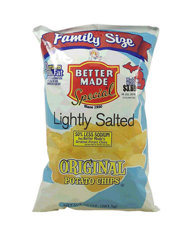 Better Made Lightly Salted Original Potato Chips Family Sized