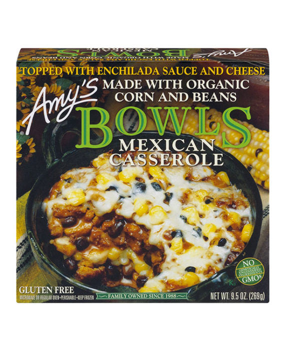 Amy's Mexican Casserole Bowl