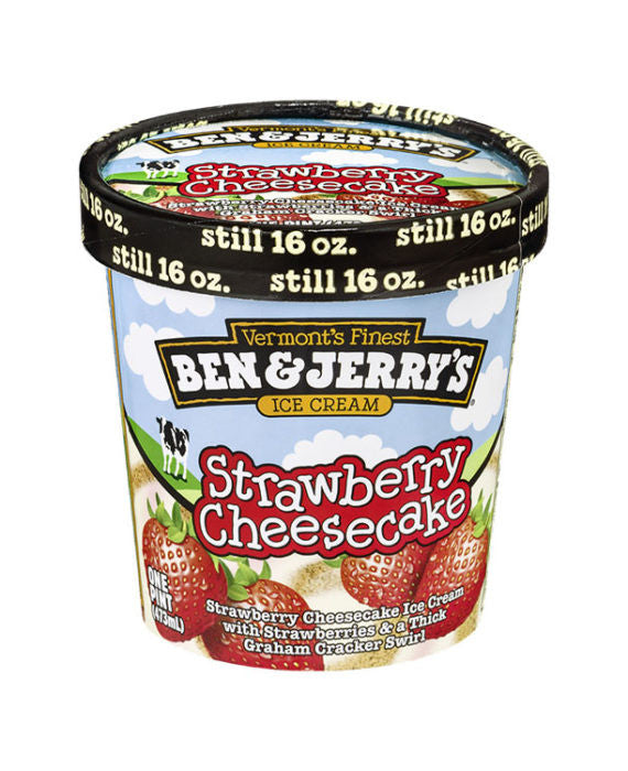 Ben & Jerry's Strawberry Cheesecake Ice Cream