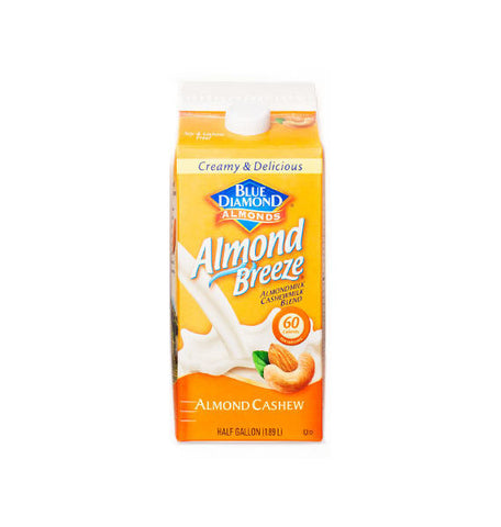 Blue Diamond Almond Breeze Almond Cashew Milk
