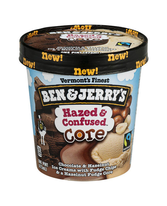 Ben & Jerry's Hazed & Confused Ice Cream
