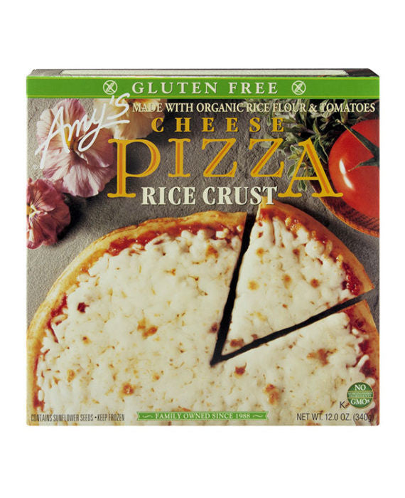 Amy's Gluten Free Rice Crust Cheese Pizza