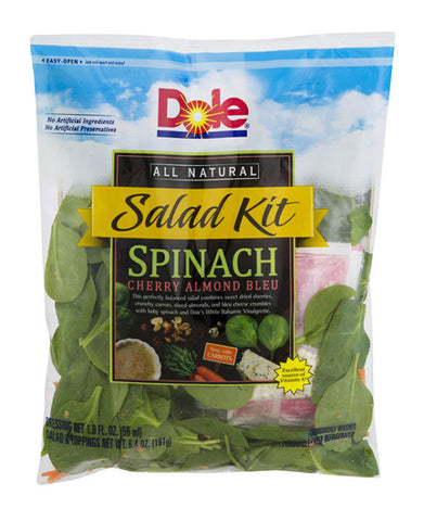 Dole Spinach Salad Kit