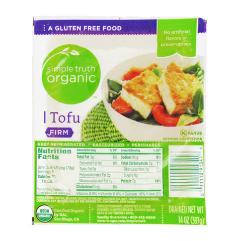 Simple Truth Organic Firm Tofu