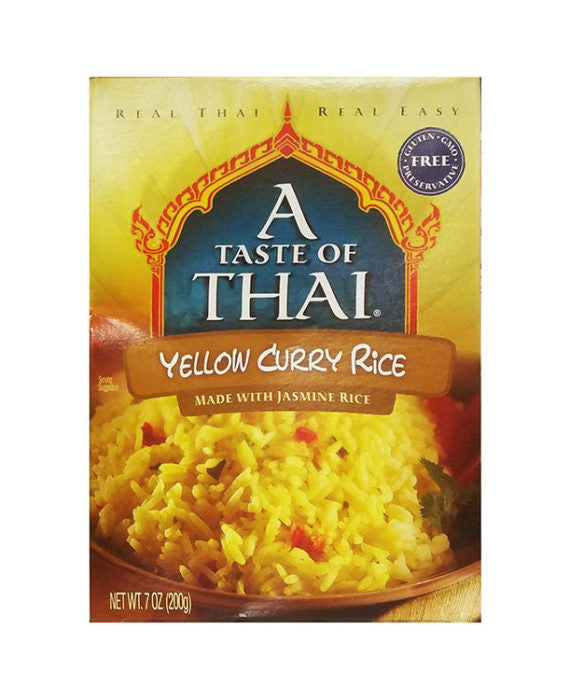 A Taste of Thai Yellow Curry Rice