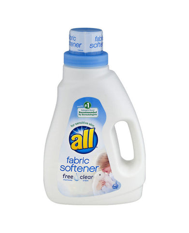 All Free & Clear Fabric Softener (40 Load)