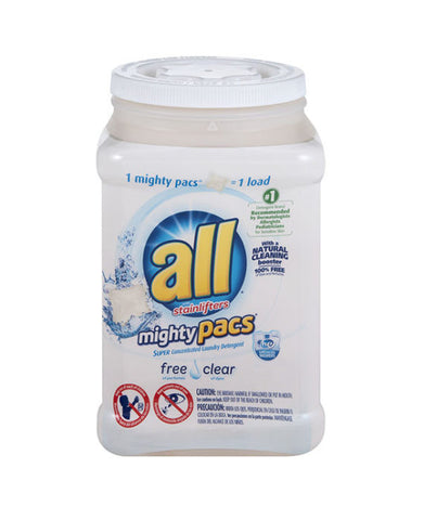 All Free & Clear Mighty Pacs Stainlifters (76ct)