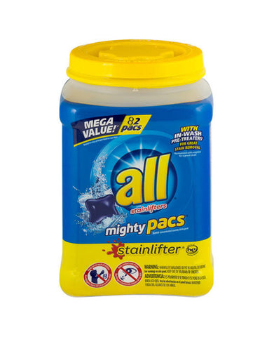 All Mighty Pacs Stainlifters (82ct)