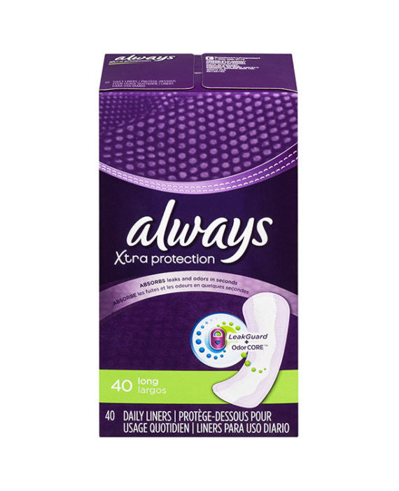 Always Xtra Protection Daily Long Liner (40ct)