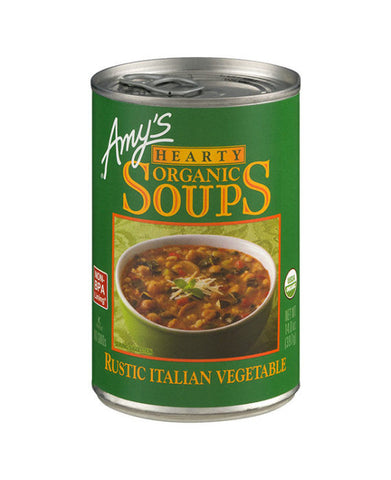 Amy's Hearty Organic Rustic Italian Vegetable Soup