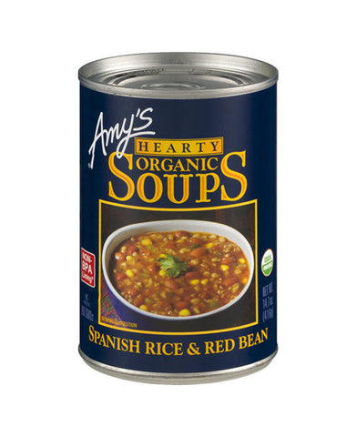 Amy's Hearty Organic Spanish Rice & Red Bean Soup
