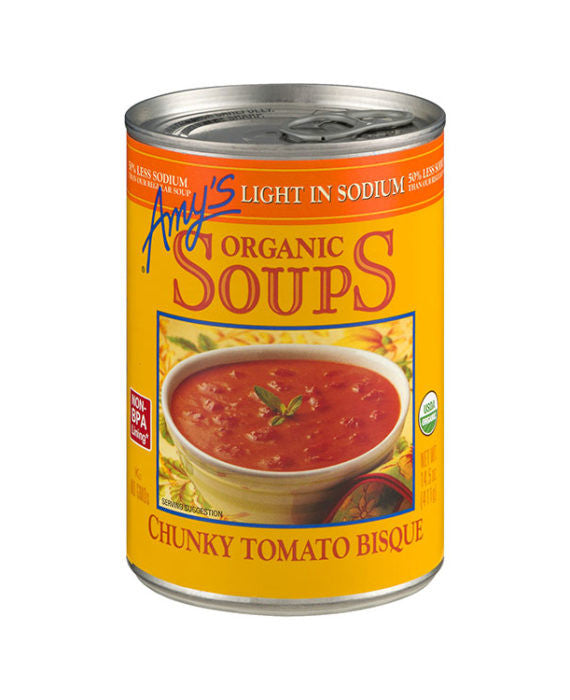 Amy's Organic Light in Sodium Chunk Tomato Bisque