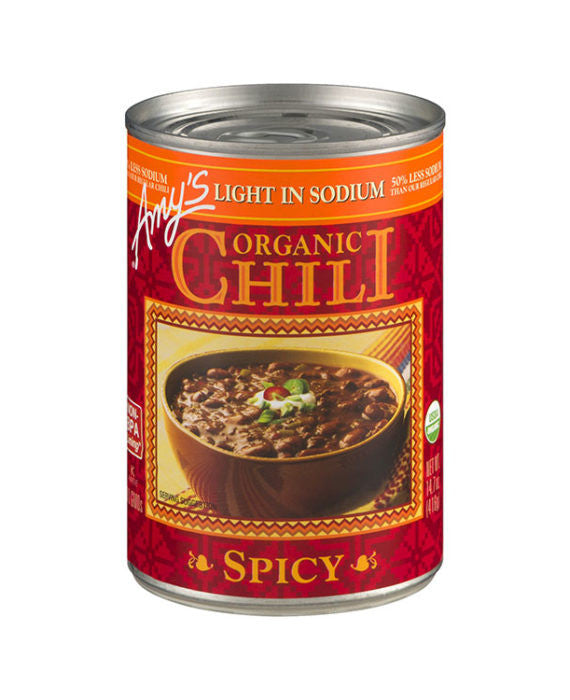 Amy's Organic Spicy Chili Light in Sodium