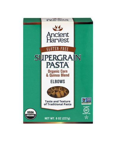 Ancient Harvest Gluten Free Supergrain Pasta Organic Elbows
