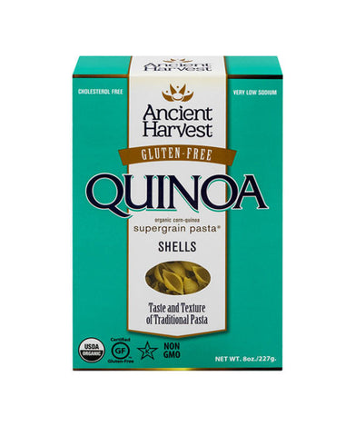 Ancient Harvest Gluten Free Supergrain Pasta Organic Shells