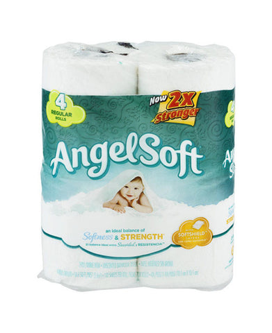 Angel Soft Regular Roll Bathroom Tissue (4ct)