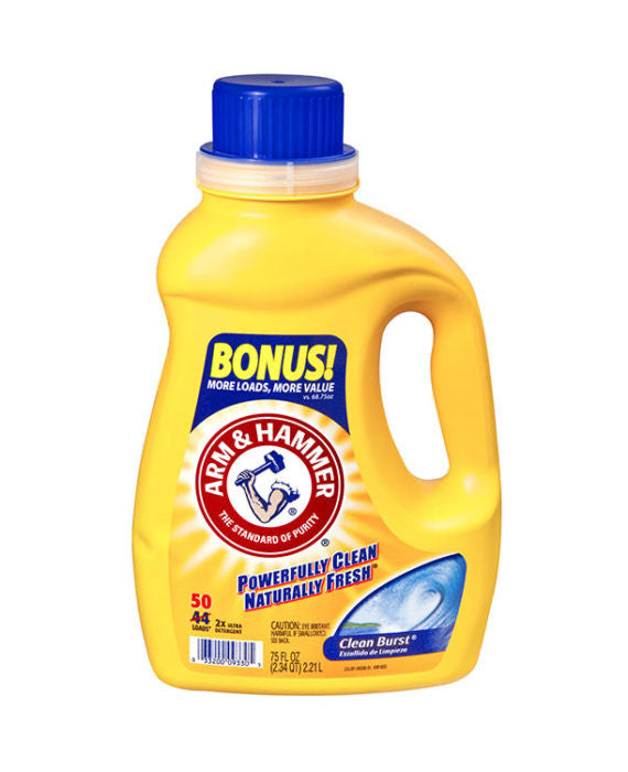 Arm & Hammer Clean Burst Detergent (50 Load)