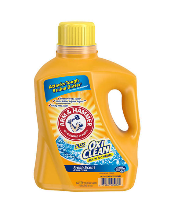Arm & Hammer Plus OxiClean Stain Fighters Fresh Scent Detergent (100 Load)