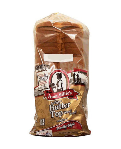 Aunt Millie's Butter Top Wheat Bread
