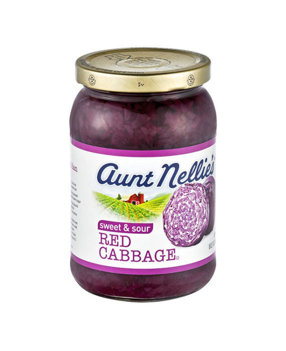Aunt Nellie's Sweet & Sour Red Cabbage