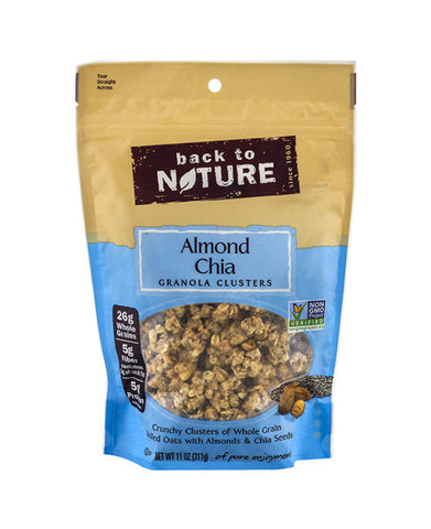 Back to Nature Almond Chia Granola Cluster