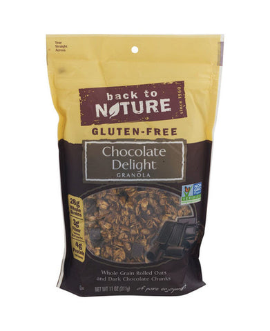 Back to Nature Gluten Free Chocolate Delight Granola