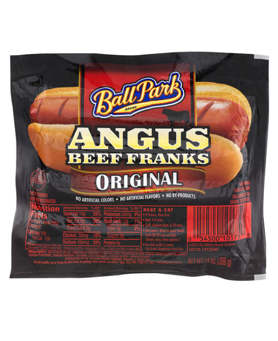 Ball Park Original Angus Beef Franks