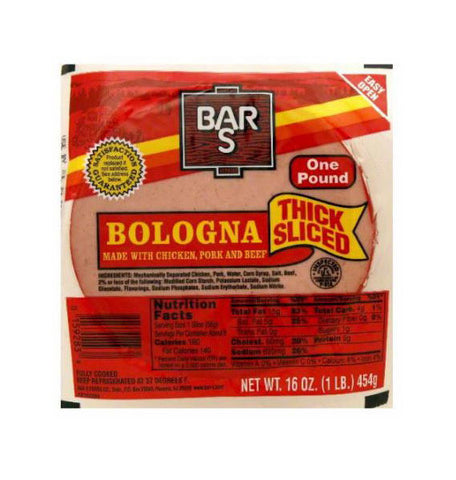 Bar S Thick Sliced Bologna