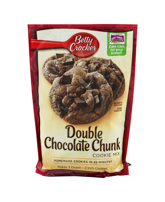 Betty Crocker Double Chocolate Chunk Cookie Mix