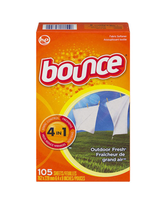 Bounce Outdoor Fresh Dryer Sheets (105ct)