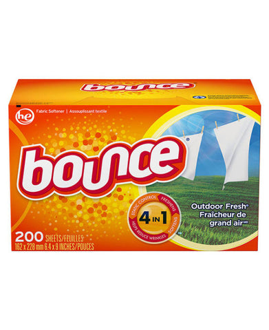 Bounce Outdoor Fresh Dryer Sheets (200ct)