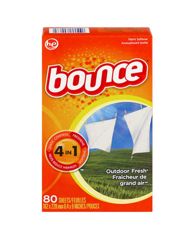 Bounce Outdoor Fresh Dryer Sheets (80ct)