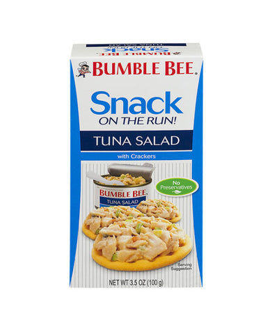 Bumble Bee Snack On The Run! Tuna Salad with Crackers