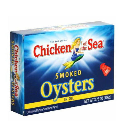Chicken of the Sea Smoked Oysters in Oil