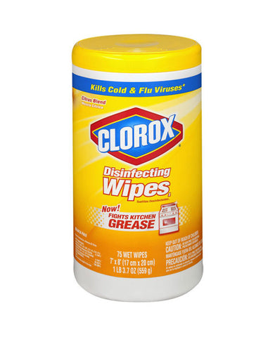 Clorox Disinfecting Wipes Citrus Blend (75ct)