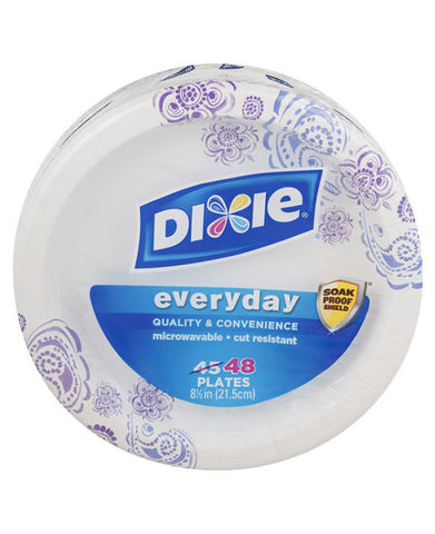 "Dixie Everyday 8.5"" Paper Plates (48ct)"
