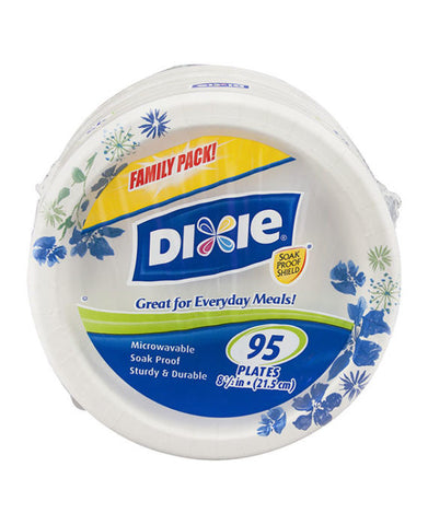 "Dixie Everyday 8.5"" Paper Plates Family Pack (95ct)"