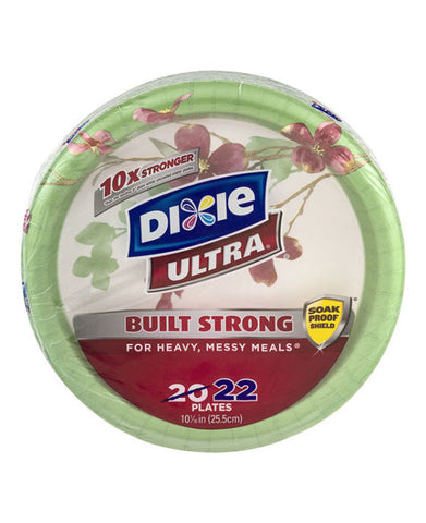 Dixie Ultra Strong Plates (22ct)