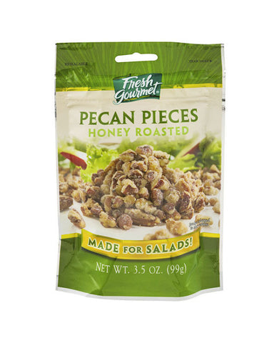 Fresh Gourmet Honey Roasted Pecan Pieces