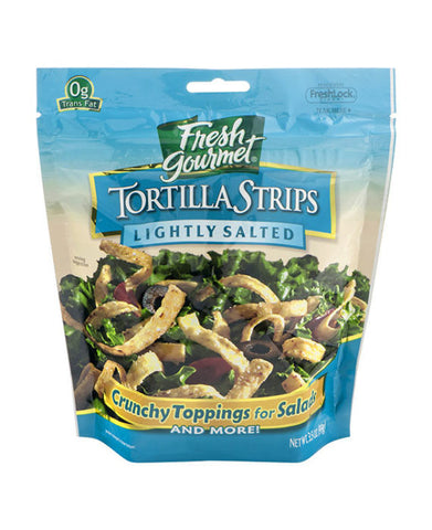 Fresh Gourmet Lightly Salted Tortilla Strips