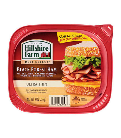 Hillshire Farm Deli Select Ultra Thin Black Forest Ham
