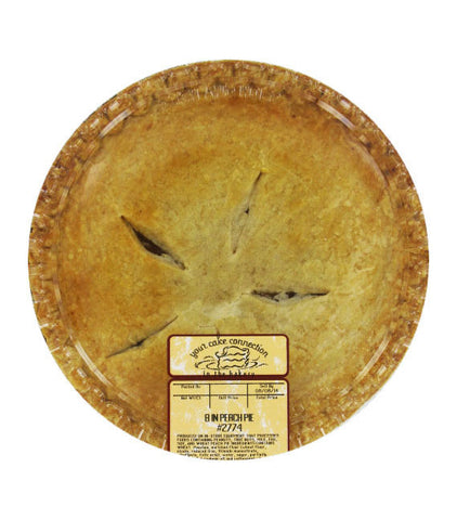 Kroger 8″ Peach Pie