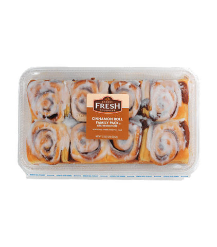 Kroger Bakery Fresh Cinnamon Roll Family Pack