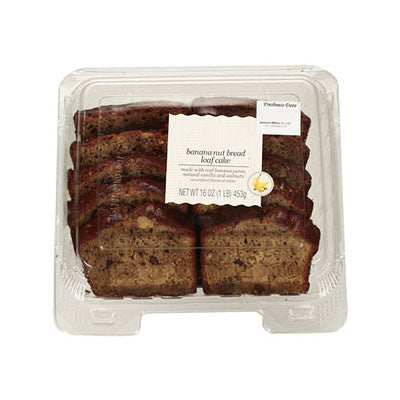 Kroger Bakery Fresh Banana Nut Loaf Cake