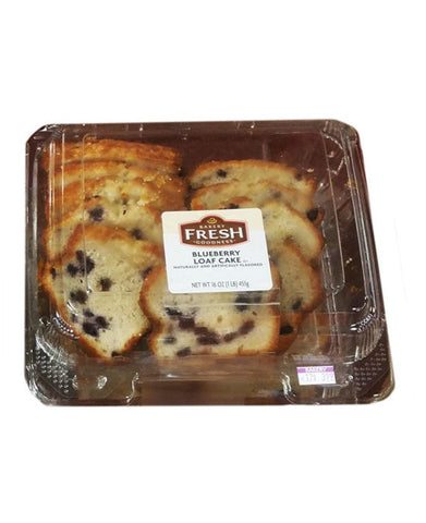 Kroger Bakery Fresh Blueberry Loaf Cake