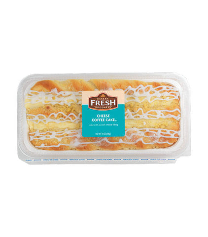 Kroger Bakery Fresh Cheese Coffee Cake